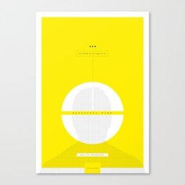Beautiful Mind Spoiler Poster Canvas Print
