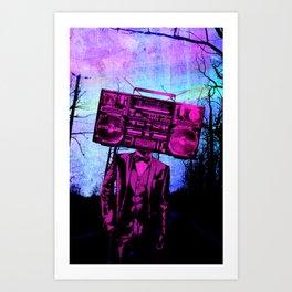 Boom Box Art Print