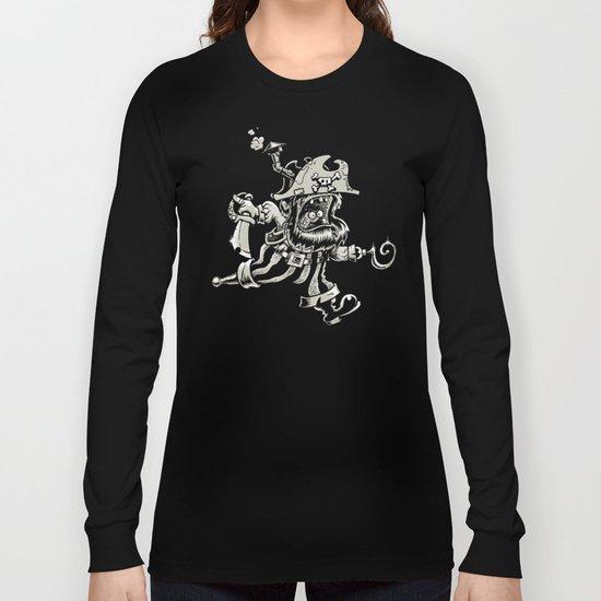 Steam powered Pirate Long Sleeve T-shirt