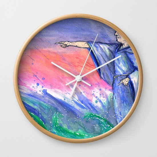 """Tempest"" by Cap Blackard Wall Clock"