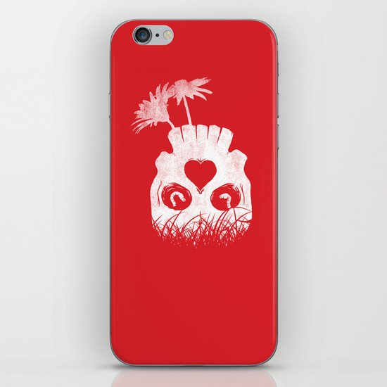 Love is where you find it iPhone Skin