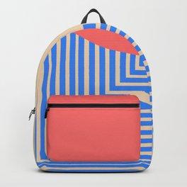 post modern geometric exit mindscape Backpack