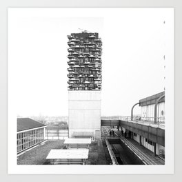 Architecture of Impossible_Spread Pavia Art Print