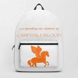 Spending my summer at Camp Half-Blood Backpack