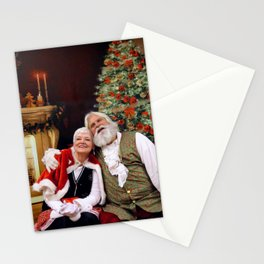 Santa 3 Stationery Cards