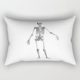 No body to dance with - skeleton Rectangular Pillow