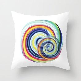Swirl No. 1 Throw Pillow