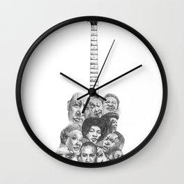The Blues Wall Clock