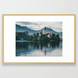 Lake Bled, Slovenia, 6 Framed Art Print