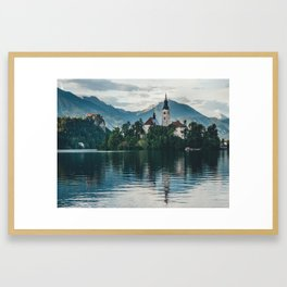 Lake Bled, Slovenia, 6 Framed Art Print