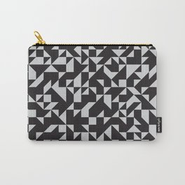Girard Inspired Geometric Pattern Carry-All Pouch