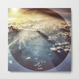 Sky before Nightfall. Metal Print
