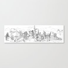 San Francisco! (Landscape) Canvas Print