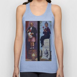 haunted mansion Unisex Tank Top