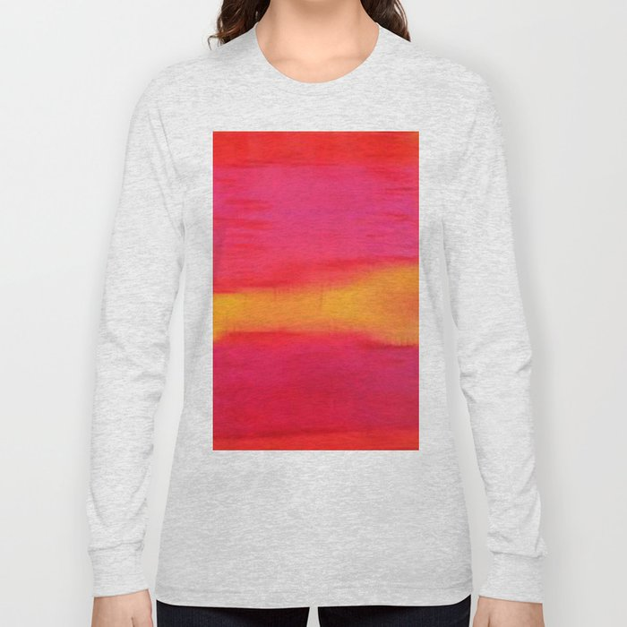 Rothko Inspired III Long Sleeve T-shirt