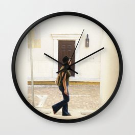 Walk Wall Clock