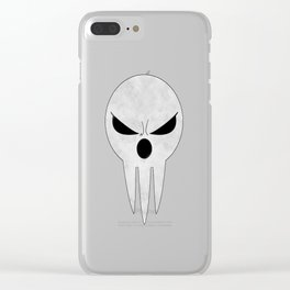 soul eater- lord death angry Clear iPhone Case