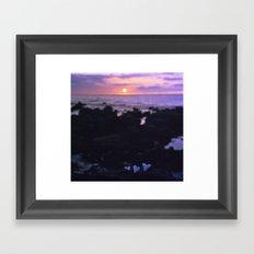 Coral Hearts Framed Art Print