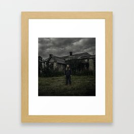 The Abandoned Place (120mm Rolleicord) Framed Art Print