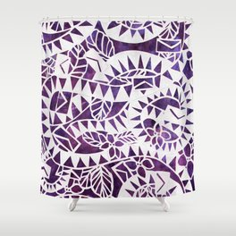 The Color Purple Shower Curtain