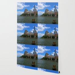 Manhattan And Hudson River Wallpaper