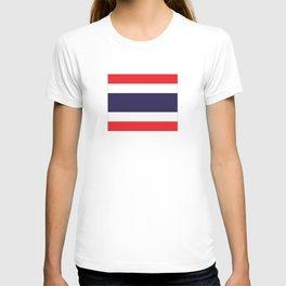 flag of thailand 2 -thailand,Siam,thai,siamese,bangkok. T-shirt