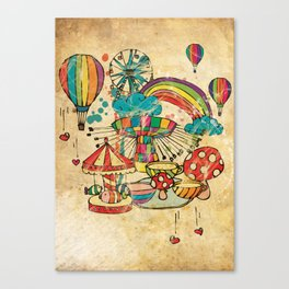 Funfair! Canvas Print