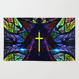 Heavenly Stained Glass Rug