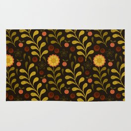 floral night Rug
