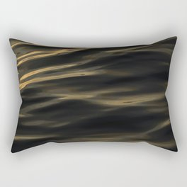 Painted by the Sea III Rectangular Pillow