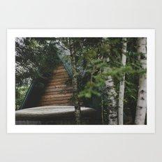 Lutsen, MN.  Art Print