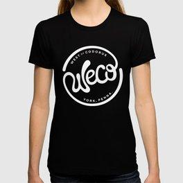 WeCo Logo Black on White T-shirt