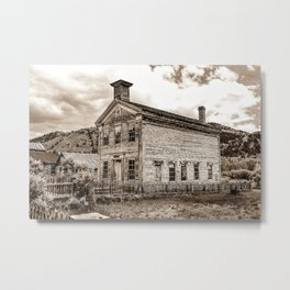 House Of Masons Metal Print