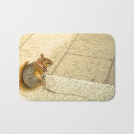 Squirrelly  Sightings Bath Mat