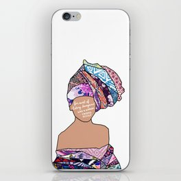 Woman in Colors - 5 - For Most of History, Anonymous was a Woman iPhone Skin