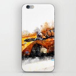 Denny Hulme iPhone Skin