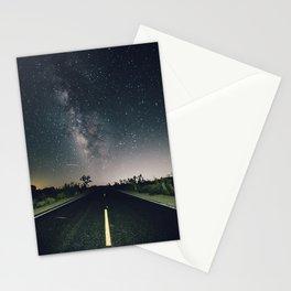 Aliens Exist - Joshua Tree Milky Way Stationery Cards