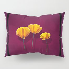 Three Poppies Pillow Sham