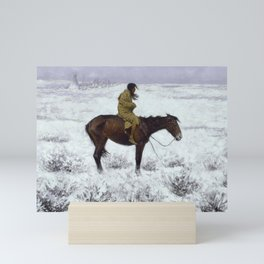Frederic Remington - The Herd Boy, 1910 Mini Art Print