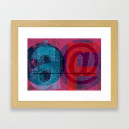 there's always  some... Framed Art Print