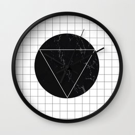 Marble Eclipse Wall Clock