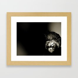 Doll On Film Framed Art Print