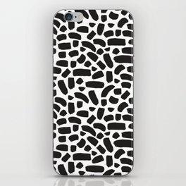 Brush strokes pattern #8 iPhone Skin
