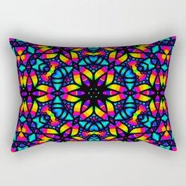 Kaleidoscope Psychedelic Dream Rectangular Pillow