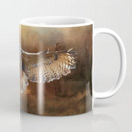 Owl Flight Coffee Mug
