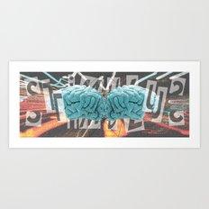 stimulus Art Print