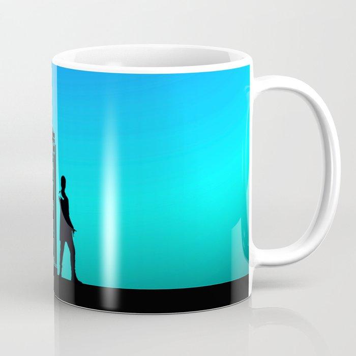 Tardis With The Twelfth Doctor Coffee Mug