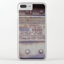 38485 Clear iPhone Case