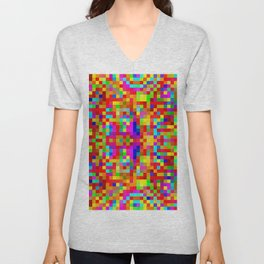 Colors in the bathrooms! ... Unisex V-Neck