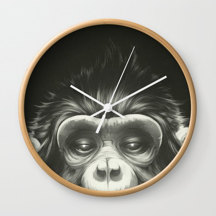 Prisoner Original Wall Clock By Lukasbrezak Society6